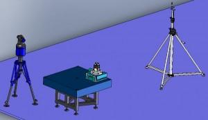 iGPS Angular Calibration Against Rotary Table
