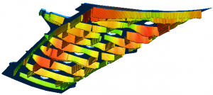 FEA Model of a Wing Cover Handling Frame