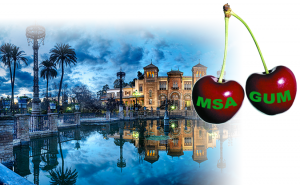 Cherry picking from MSA and Uncertainty Evaluation in Seville, Spain