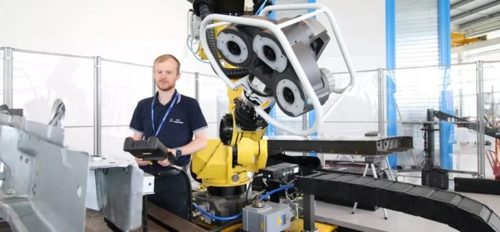 3D Scanner Designed for Fully Automated Inspection Begins Testing